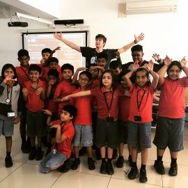josh-with-students