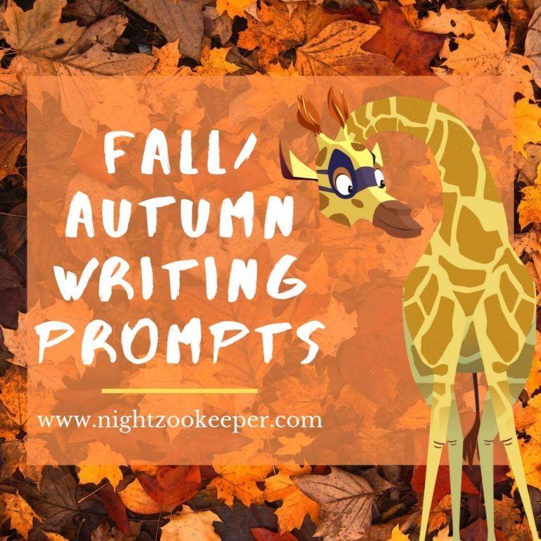 Fall/Autumn Writing Prompt Logo