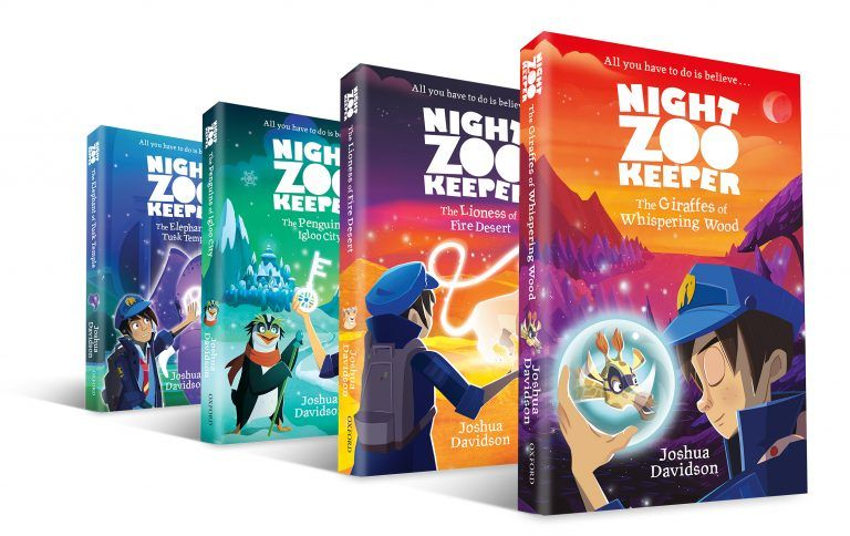 Books 1-4 in Night Zookeeper Series