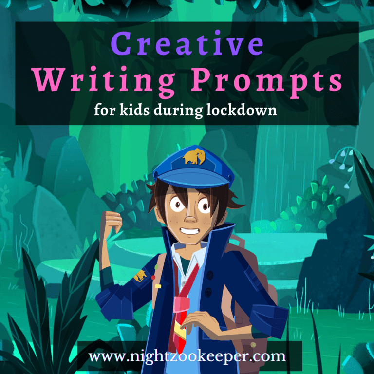Creative Writing Prompts for kids during lockdown.