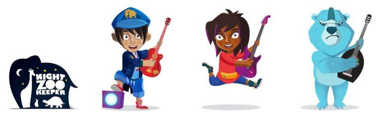 Times Table Rockstars and Night Zookeeper