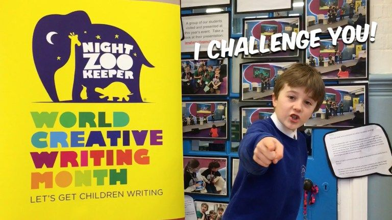 World Creative Writing Month