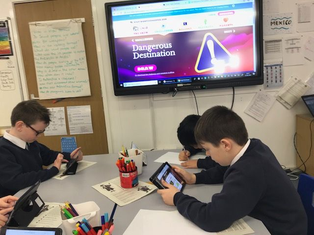 Children on iPads 2