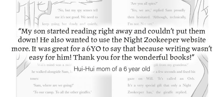 Parent Review from Hui-Hui mom of a 6 year old